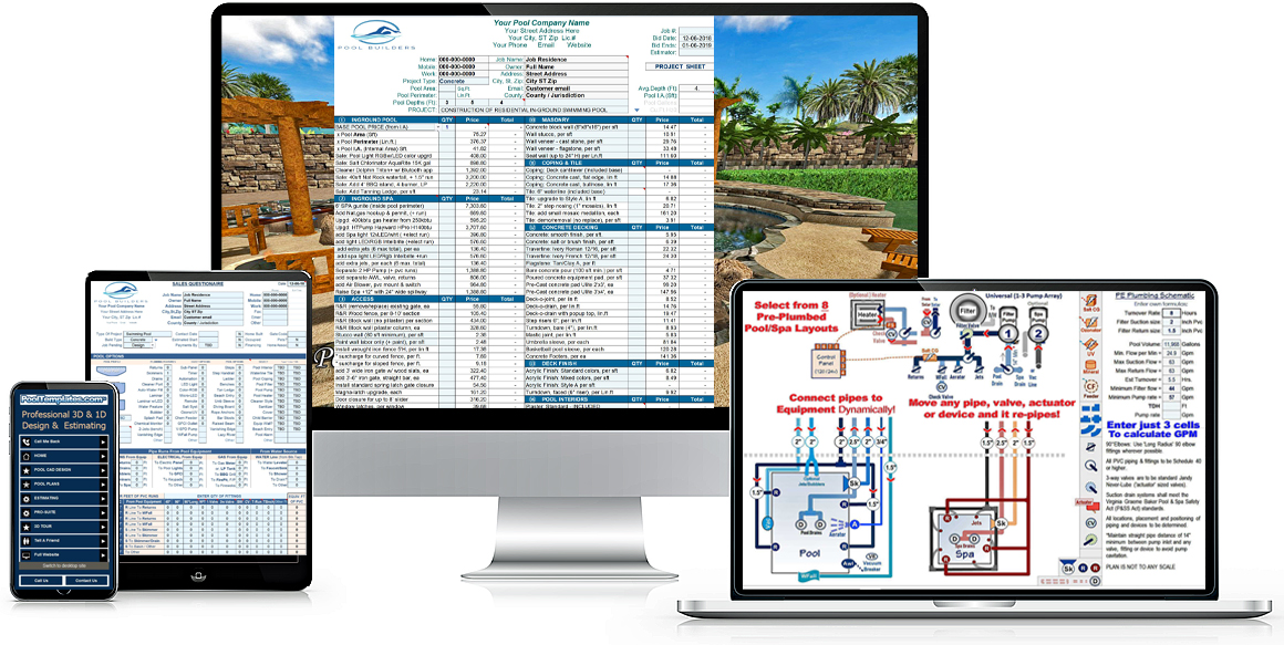 Swimming Pool Estimator