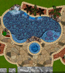 Perfect Swimming Pool Blueprints For Decor