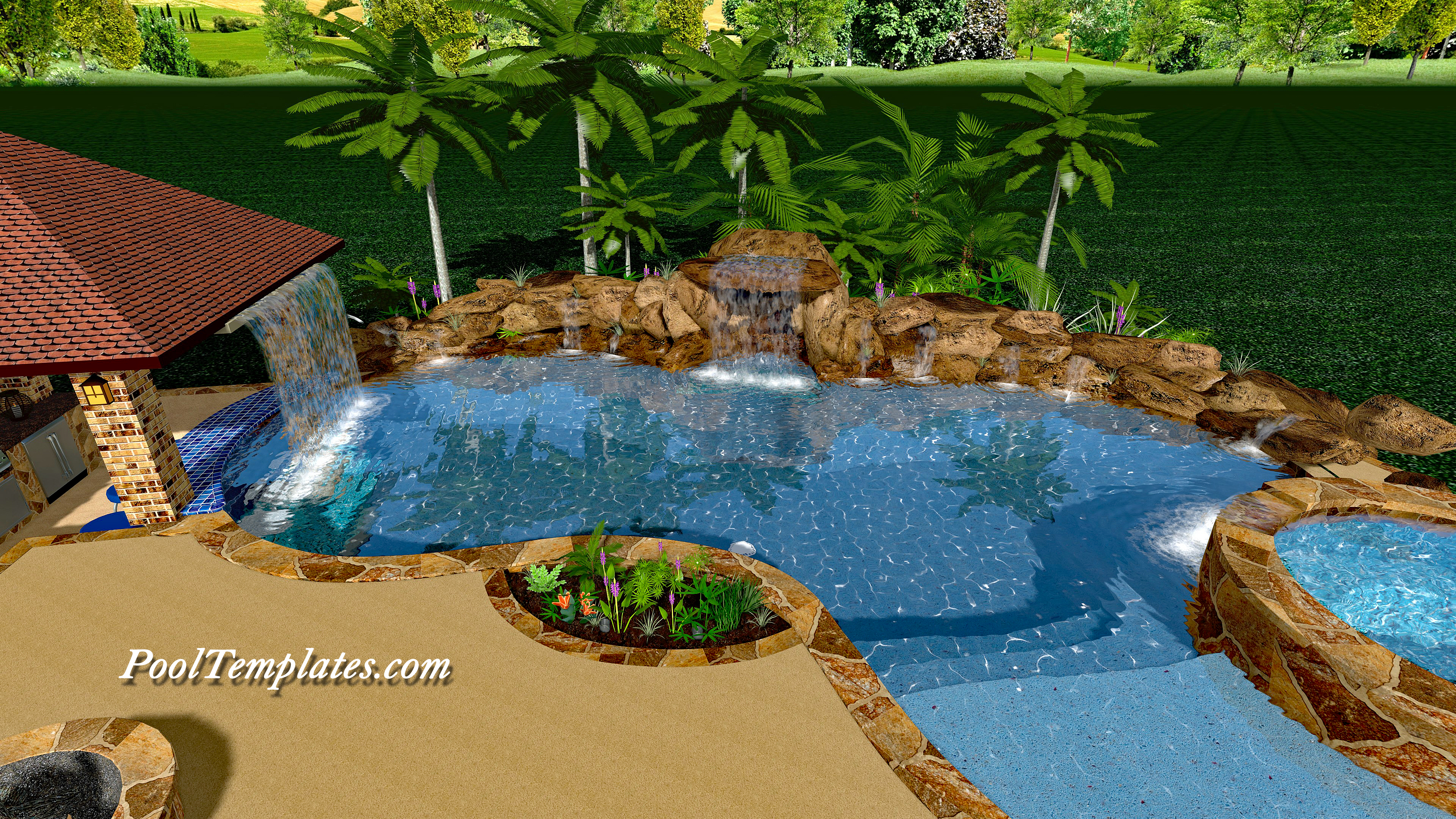 Swimming Pool Design Software Pooltemplates Com
