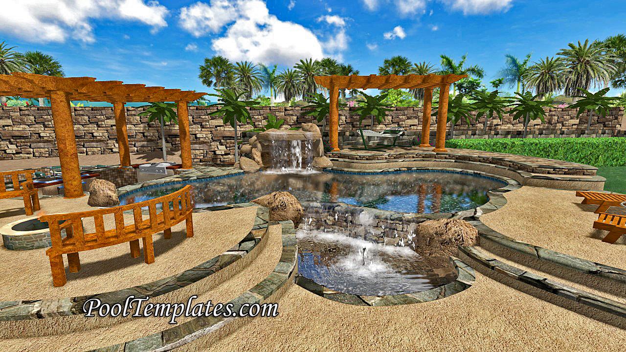 3D Pool Design Software | PoolSpaBuilder.com