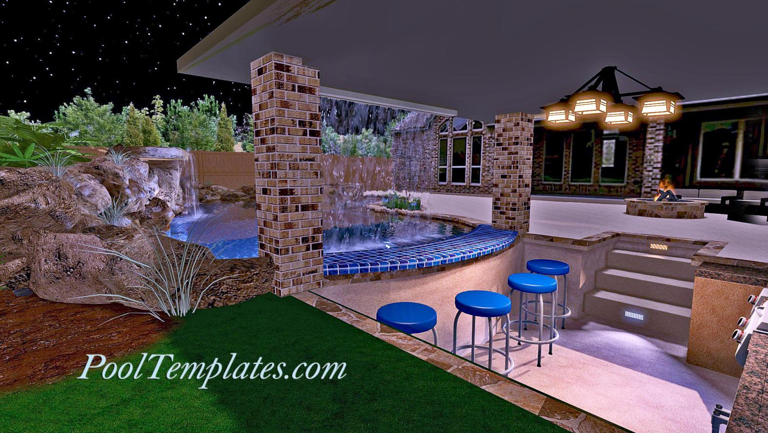 Pool Design Software | PoolTemplates.com